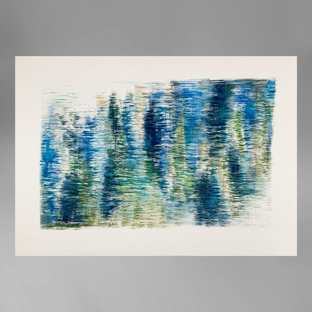 Rupert Muldoon Cast light: Marine blue