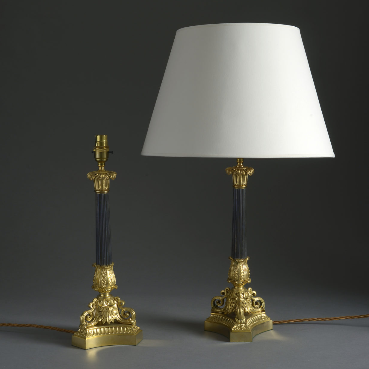 Pair of Charles X Style Lamps