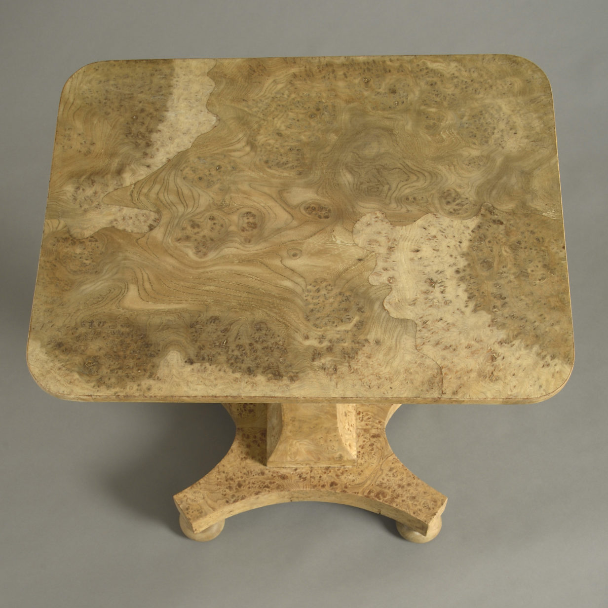 Regency Burr Elm Table