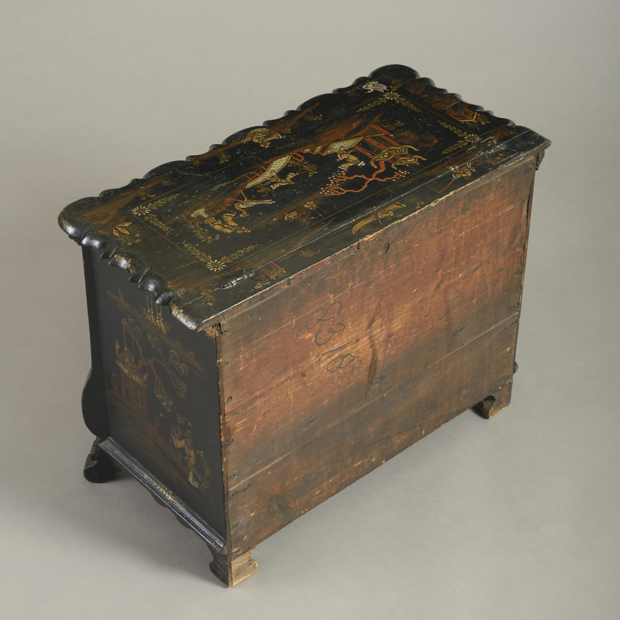 Dutch Japanned Work Box