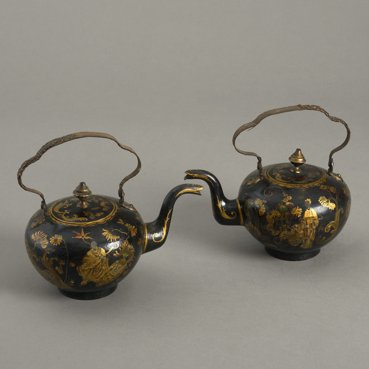 Pair of Chinese Tea Pots