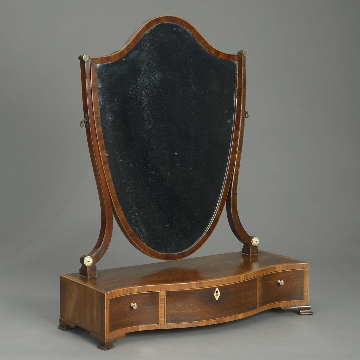George III Toilet Mirror
