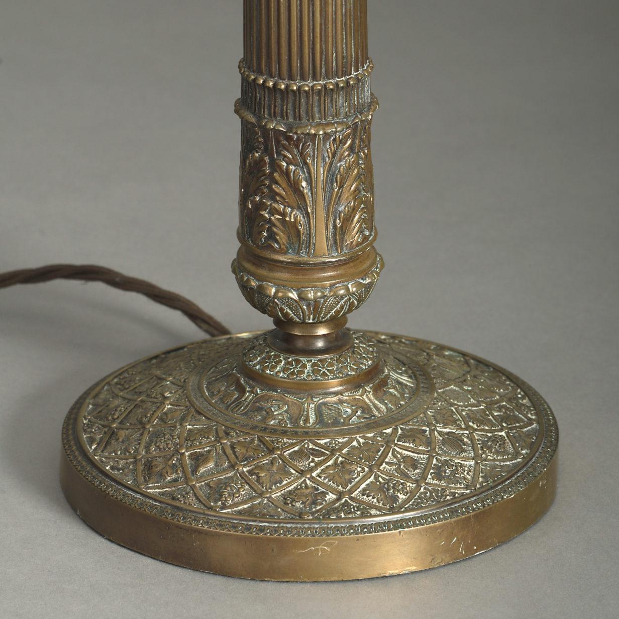 Empire Style Column Lamp