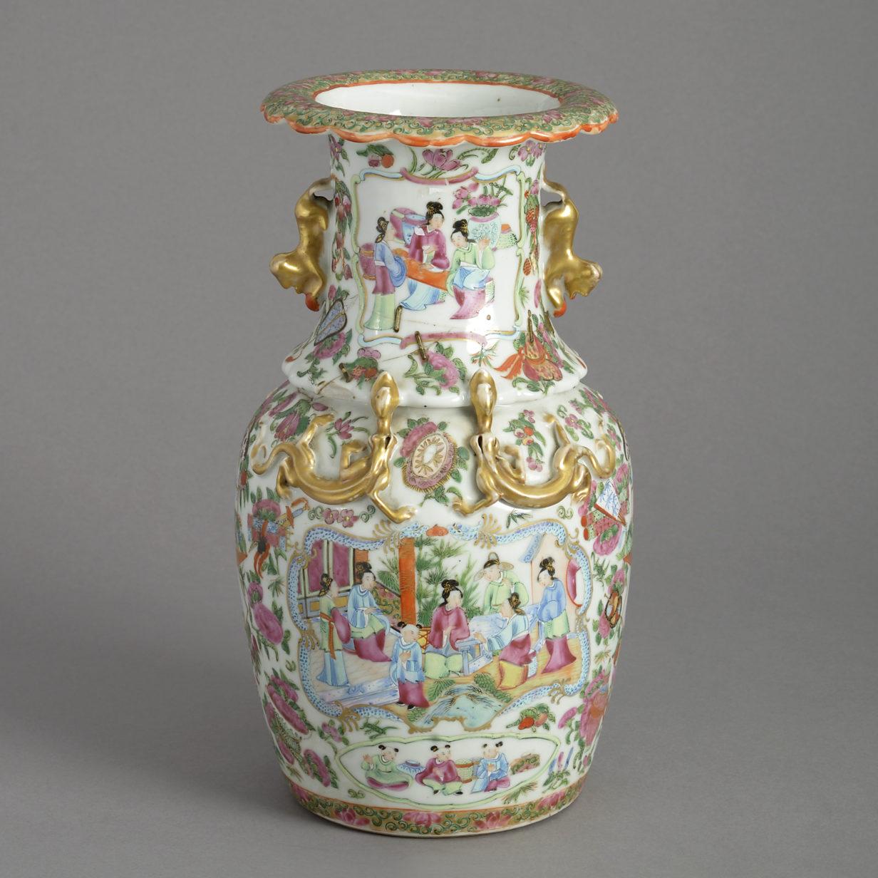 Canton Vase