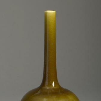 Green Bottle Vase