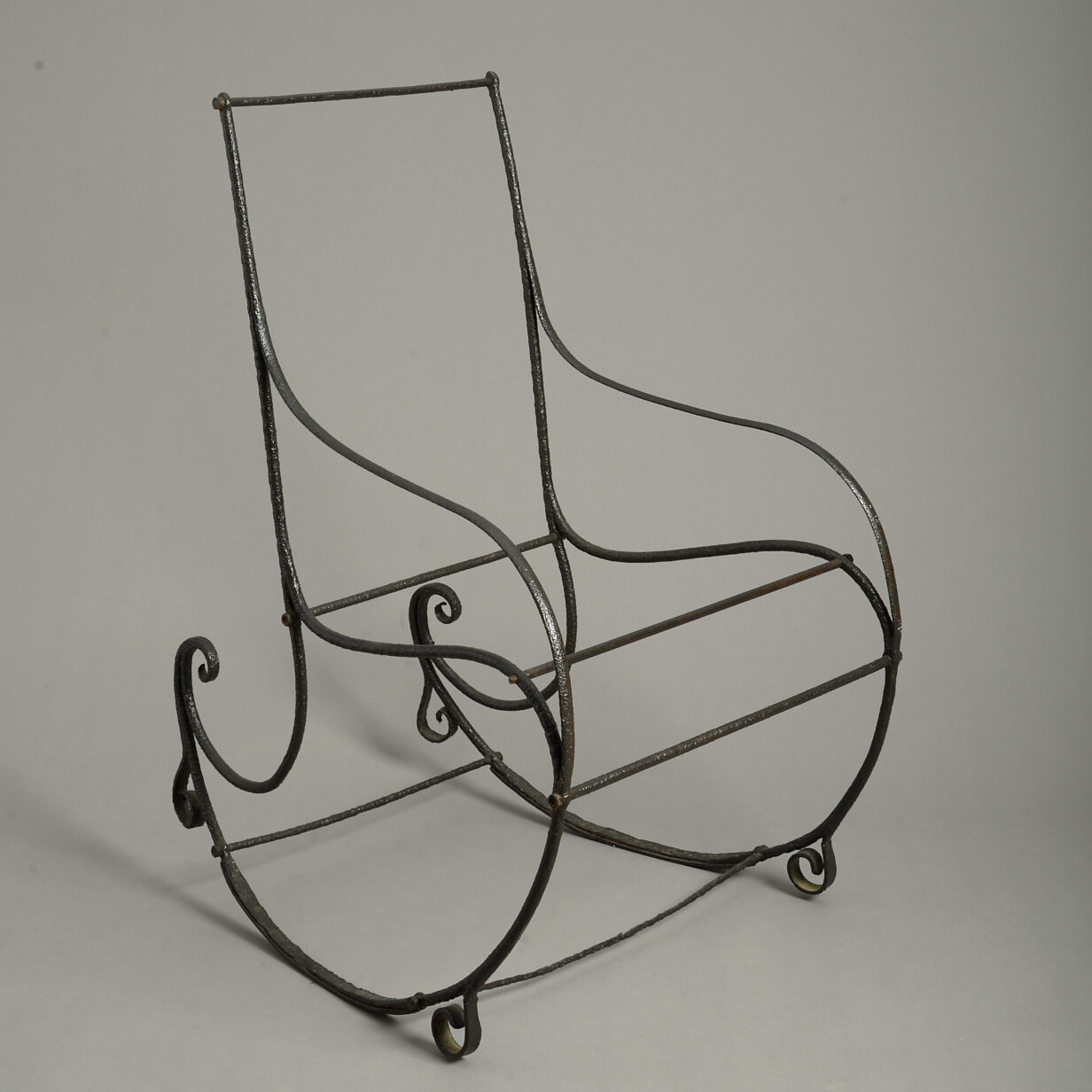Cast Iron Rocking Chair