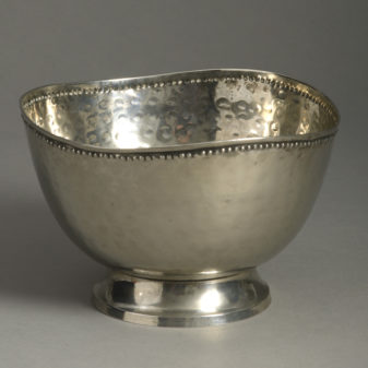 Scandinavian Silvered Bowl