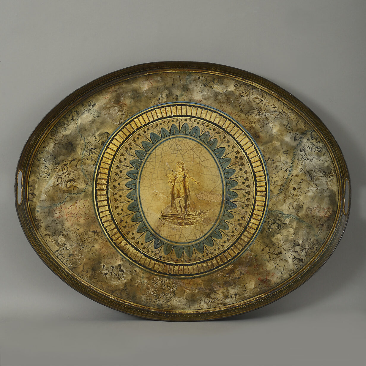 Classical Tole Tray