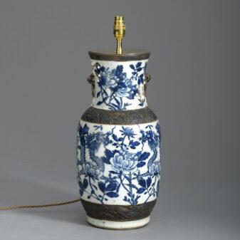 Blue and White Dragon Vase