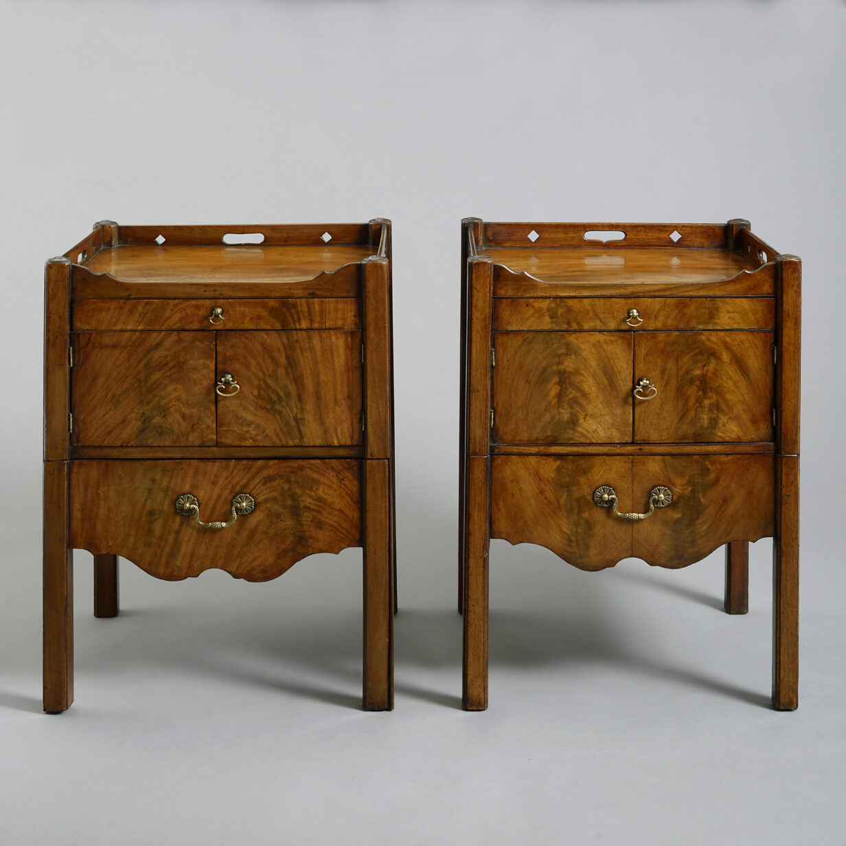 Pair of George III Period Commode