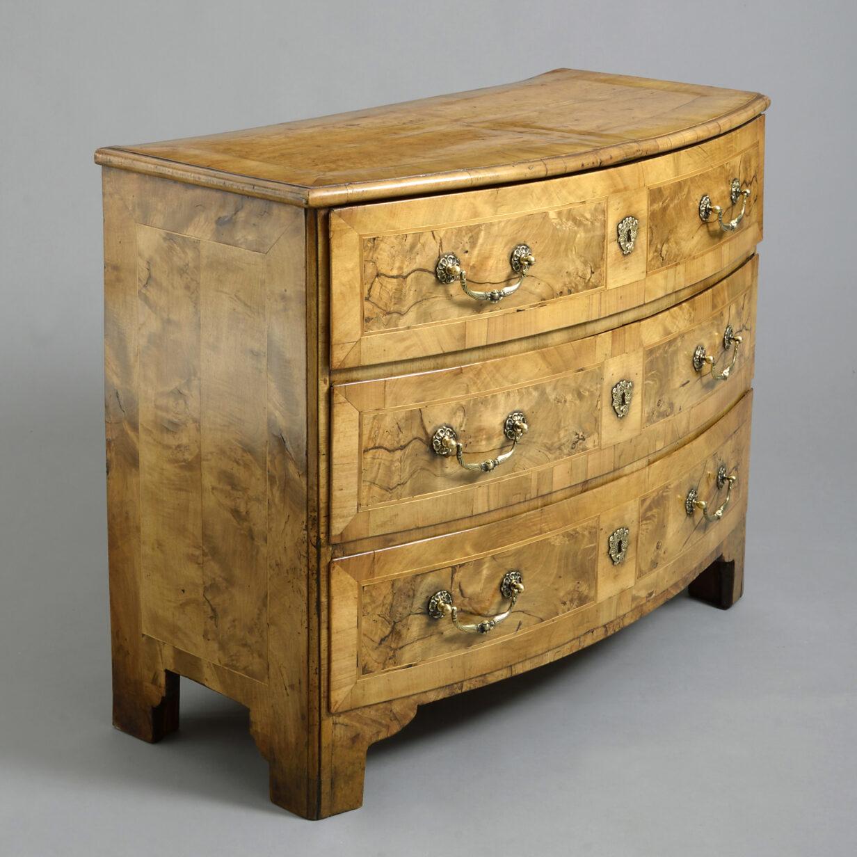 Louis XVI Burr Walnut Commode