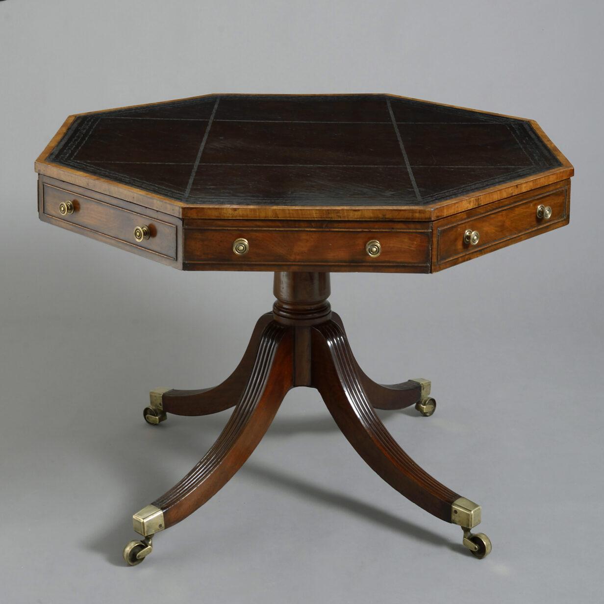 George III Mahogany Rent Table