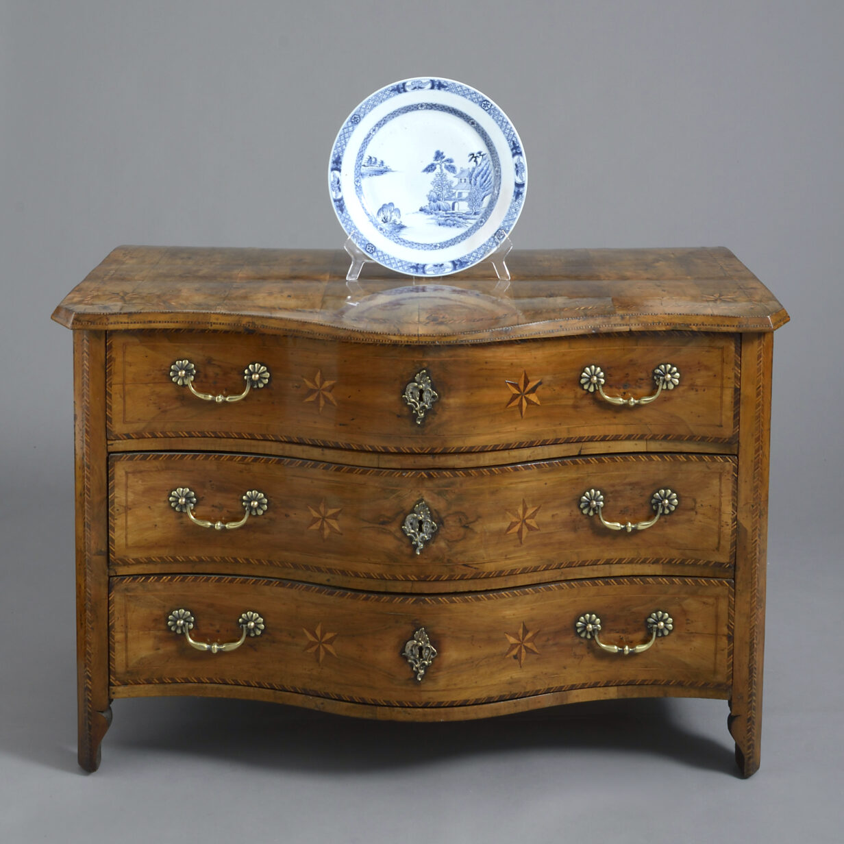 North Italian Parquetry Commode