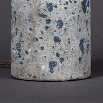 Stone Pottery Jar Lamp