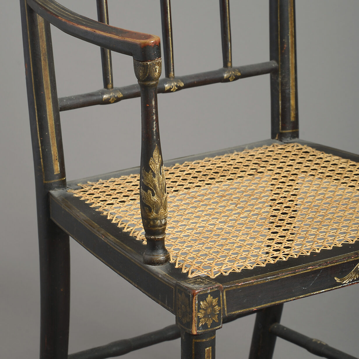 Four Regency Armchairs