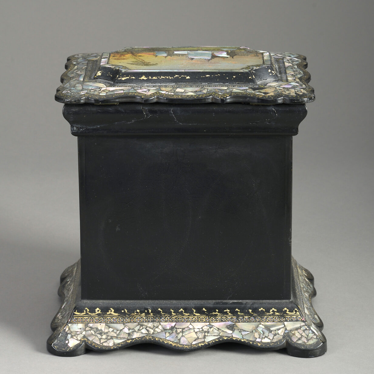 Mother of Pearl Casket
