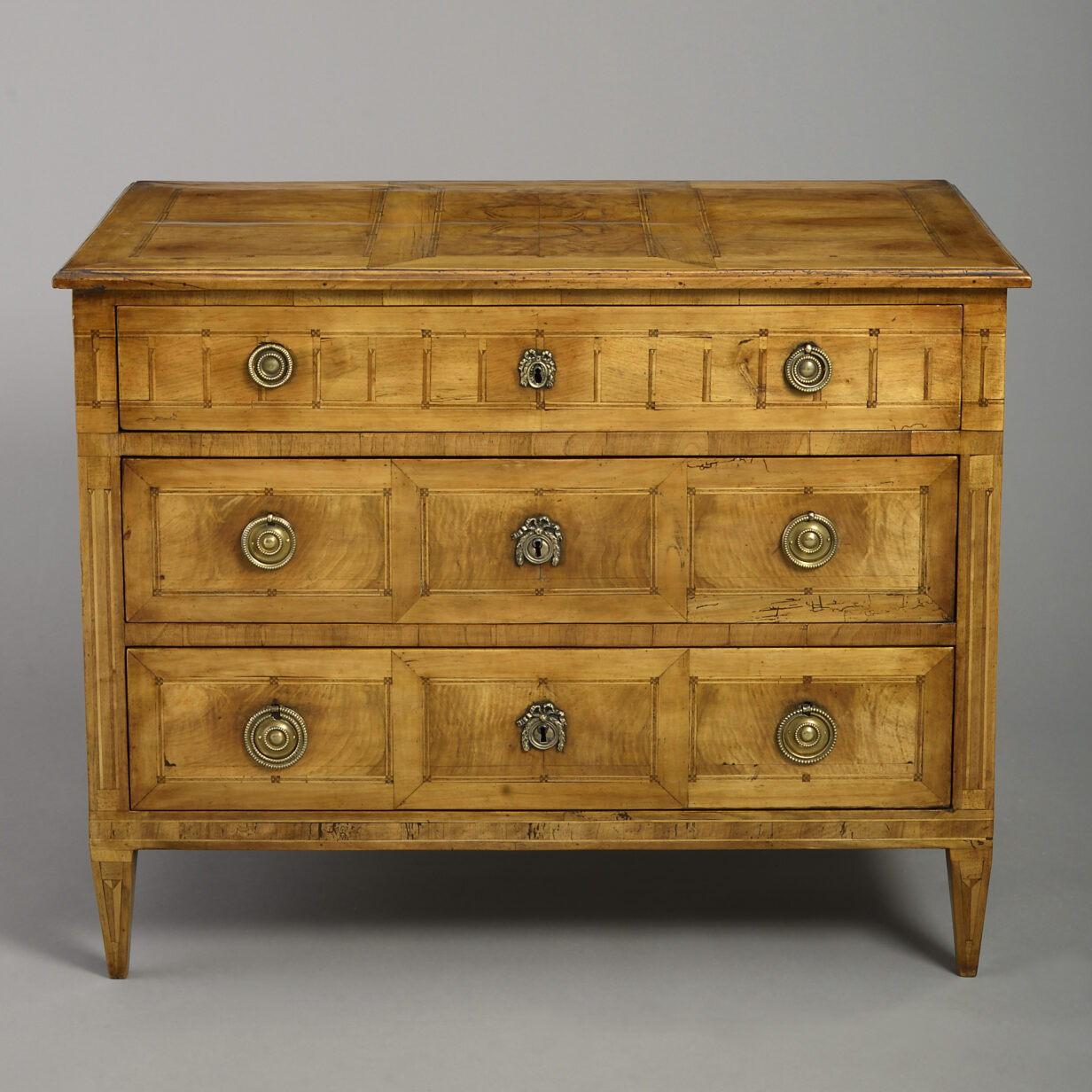 Louis XVI Parquetry commode