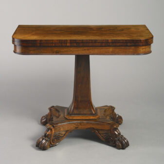 Regency Period Tea Table