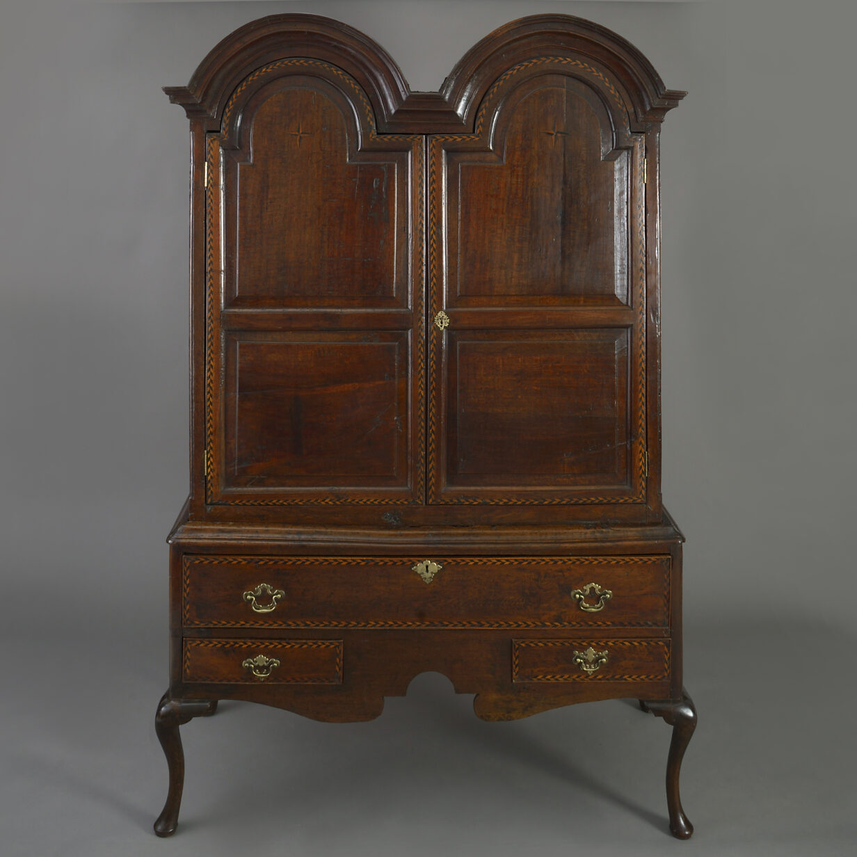 Double Domed Cabinet on Stand