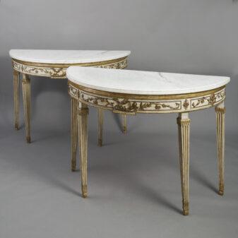 Pair of Italian Pier Tables