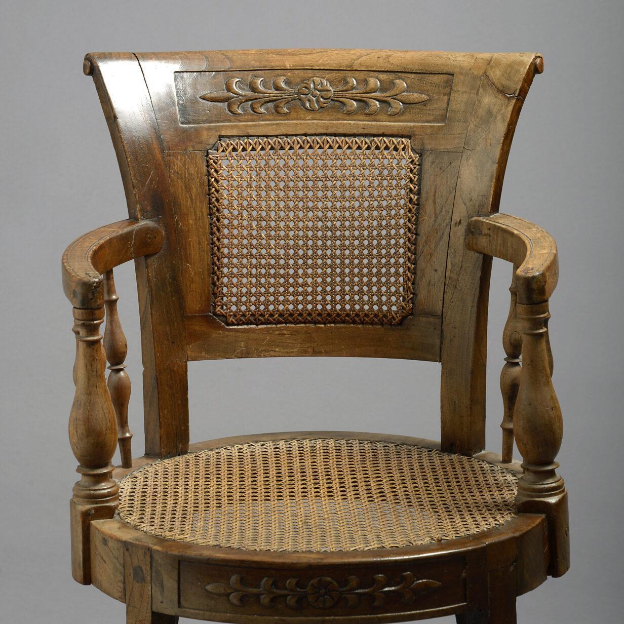 Italian Empire Armchair