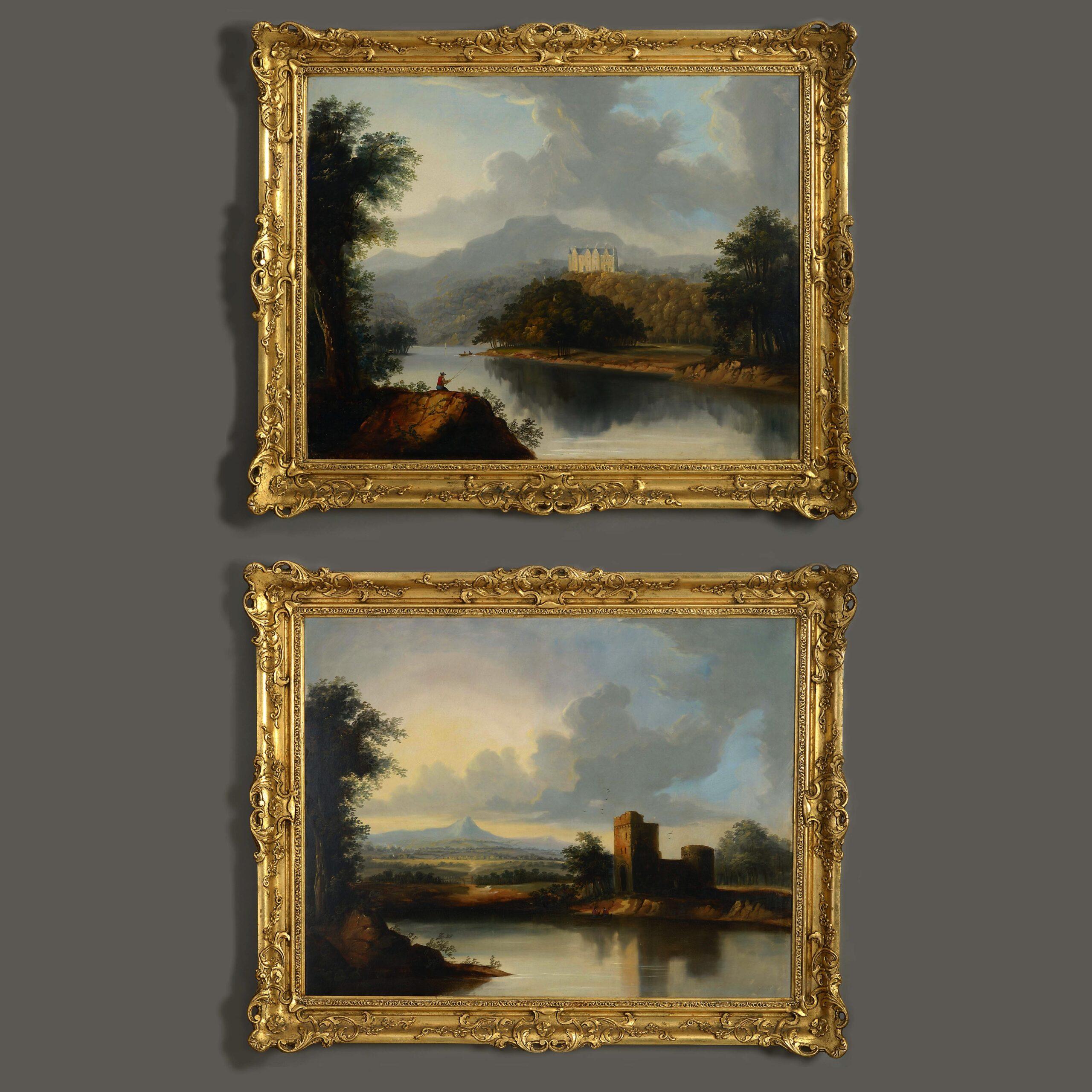 Pair of Scottish Landscapes