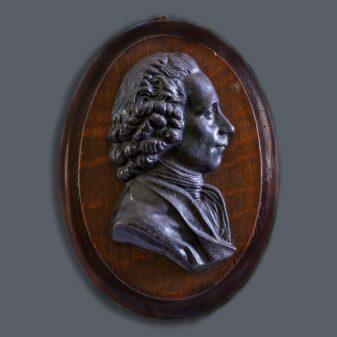 Metal Wall Plaque Portrait of Joseph Priestley