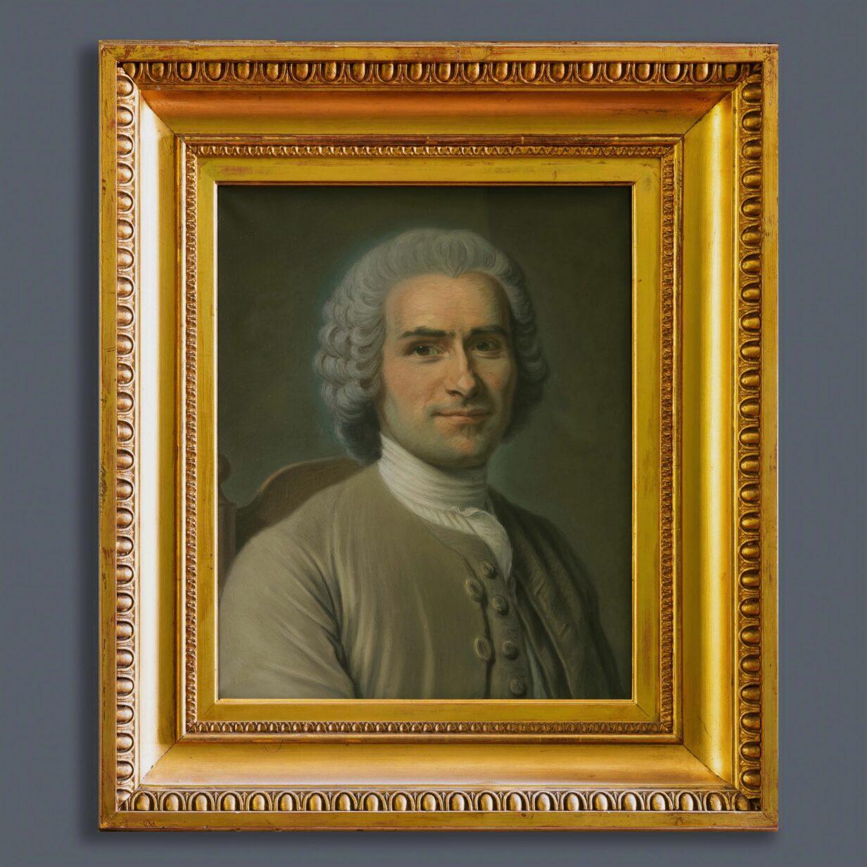 Portrait of Rousseau