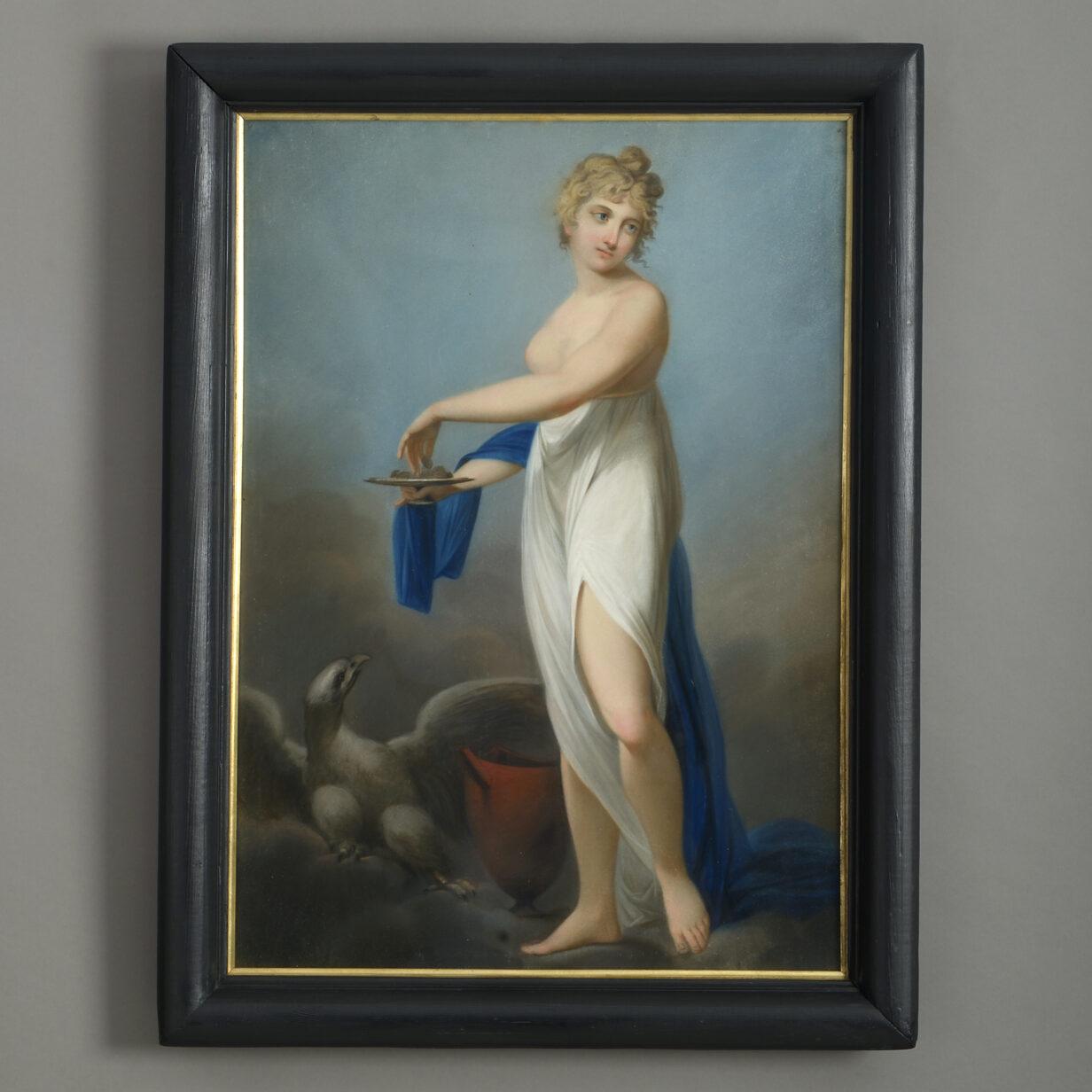 Hebe and Ganymede
