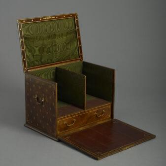 Leather Stationery Box