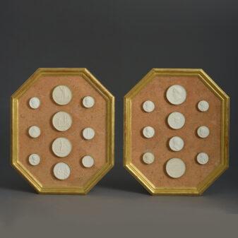 Pair of Framed Intaglios