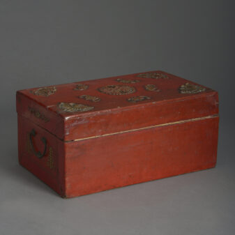 Red Lacquer Casket