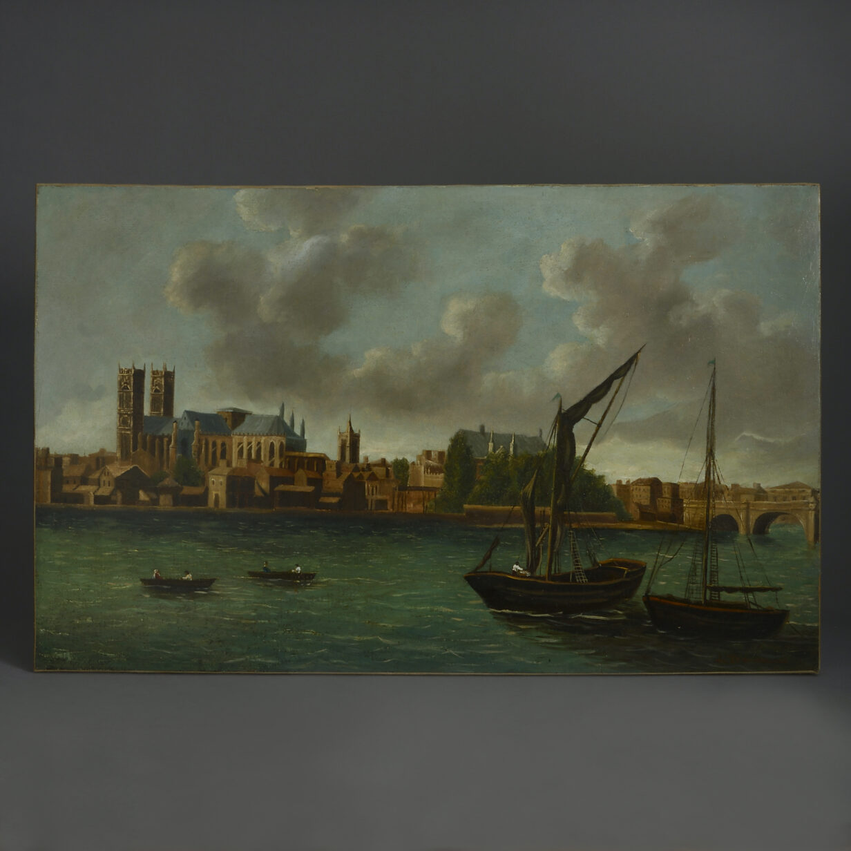View of London from The Thames