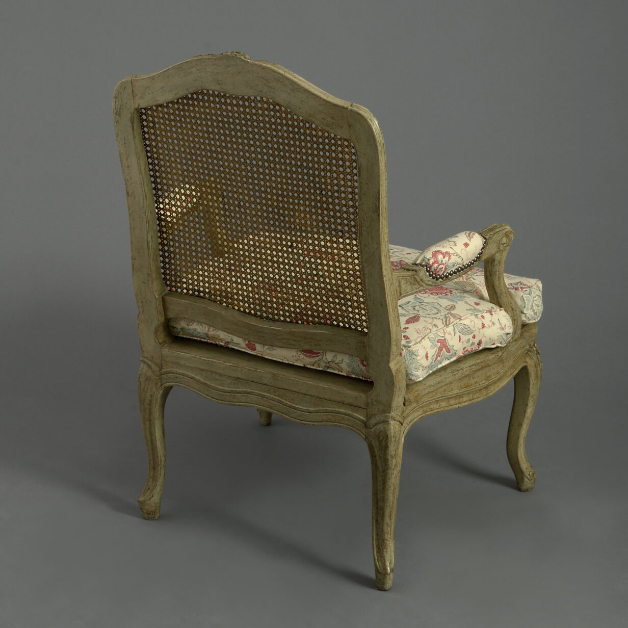 Pair of Louis XV Painted Armchairs