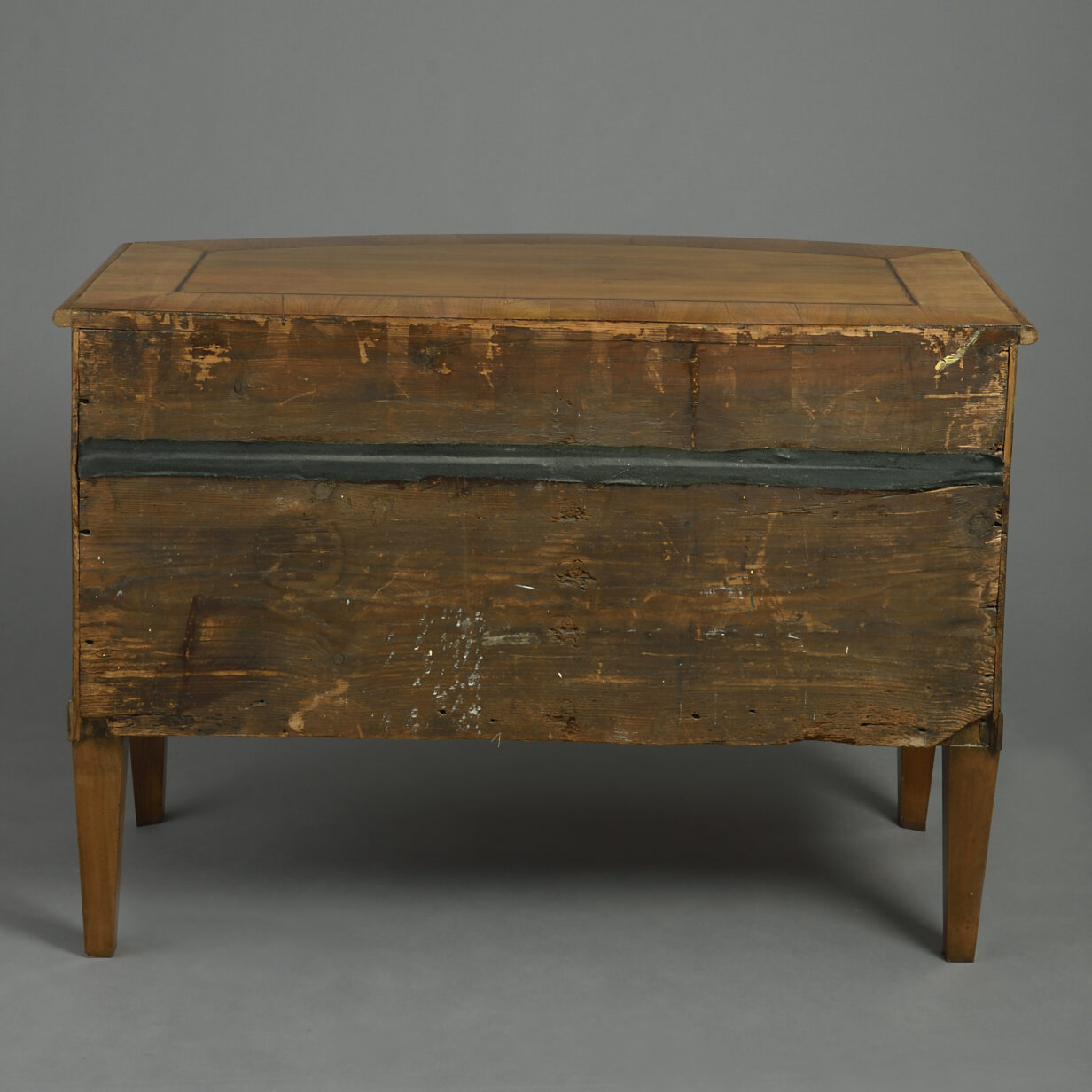 North Italian Bow Front Commode