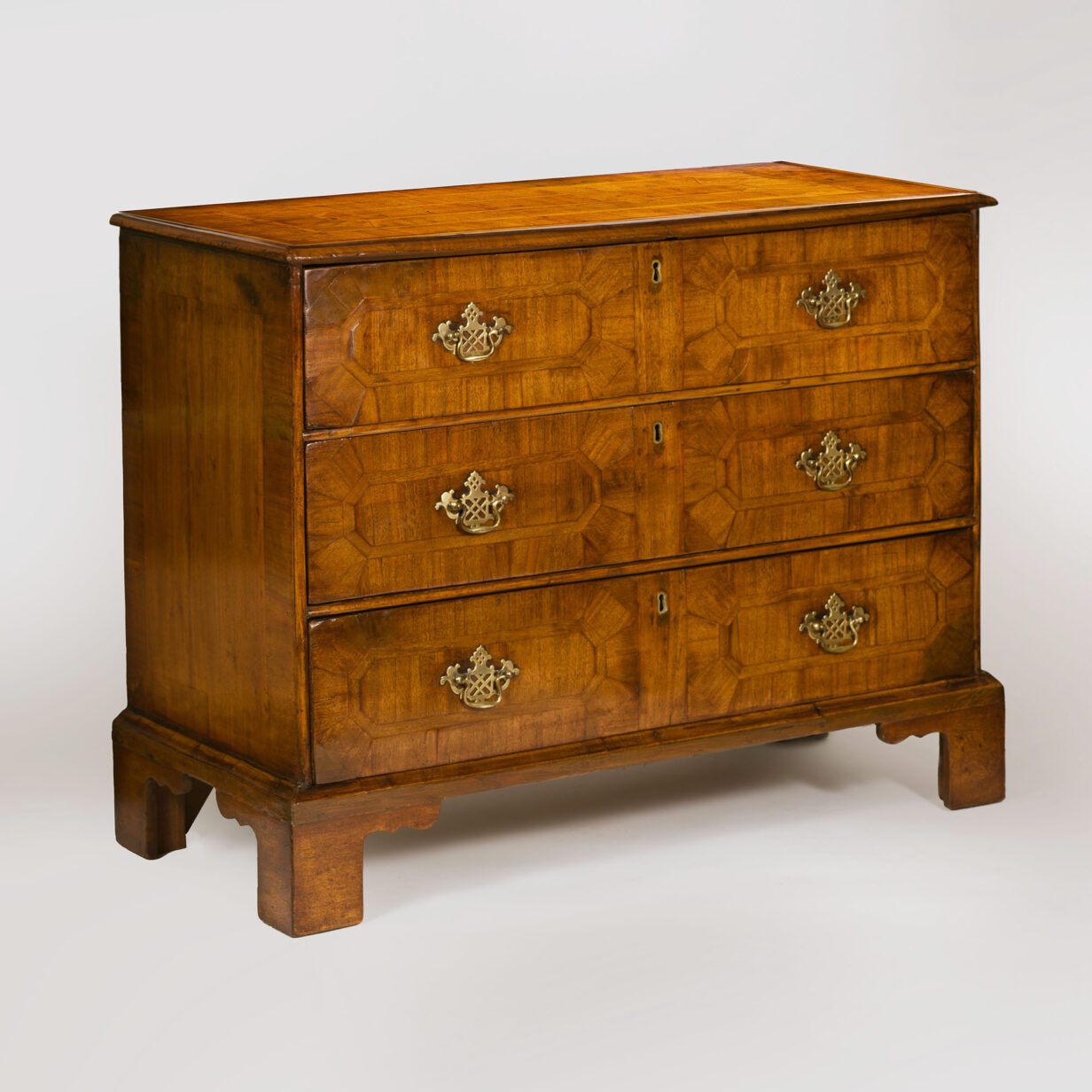 George II Walnut Chest of Drawers