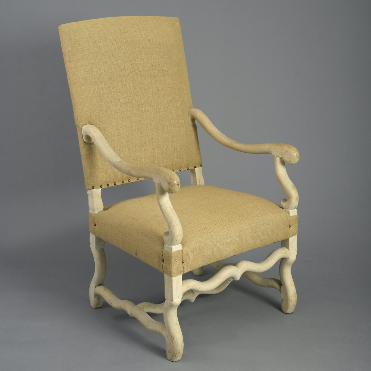 French Baroque Style Armchair