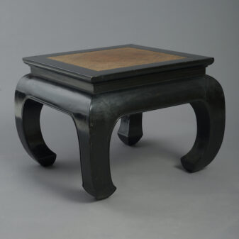 Square Lacquer Low Table