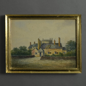 19th Century Cottage View