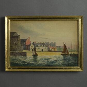 Coastal Watercolour