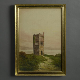 Watercolour of a Tower