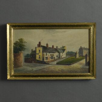Watercolour of a Village