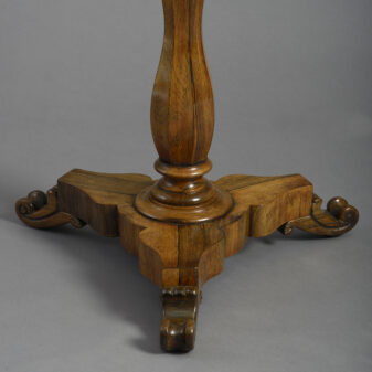 Parquetry Occasional Table