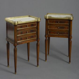 Pair of Mahogany Bedside tables