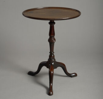 George III Chippendale Tripod Table