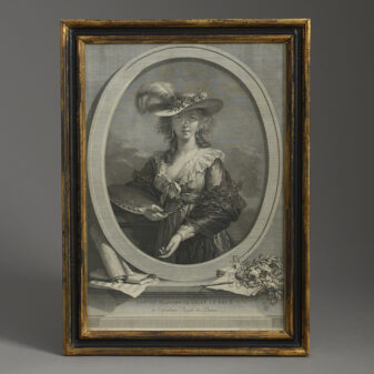 Portrait of Madame Vigee Le Brun
