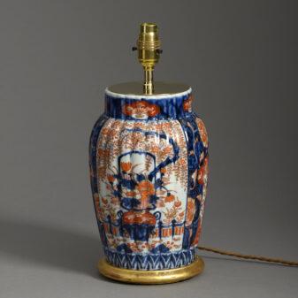 Pair of Small Imari Vase Lamps