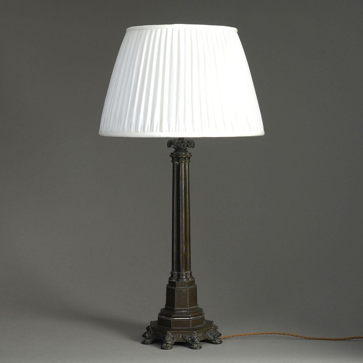 Regency Bronze Lamp