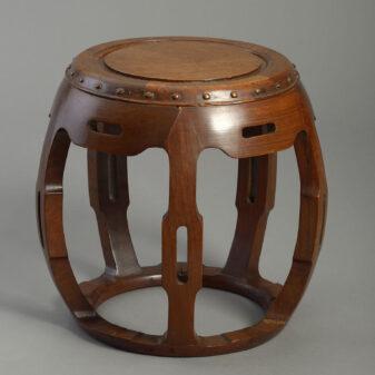 Chinese Barrel Seat