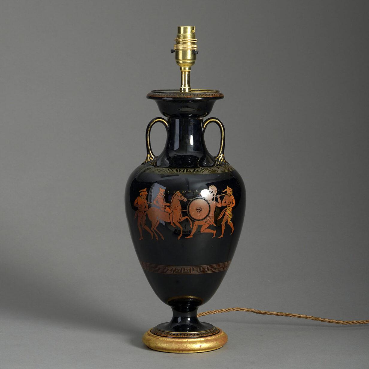 Etruscan Revival Vase lamp